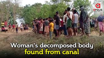 Decomposed body of woman found from canal in Jajpur, murder suspected