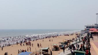 Gopalpur beach closed for two days for impending cyclone