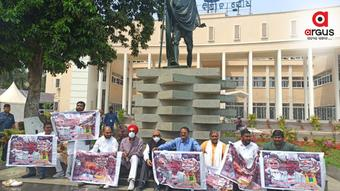Congress MLAs stage dharna inside Odisha Assembly over mandi irregularities issues