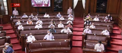 RS adjourned for day amid Oppn protest over raids, snooping