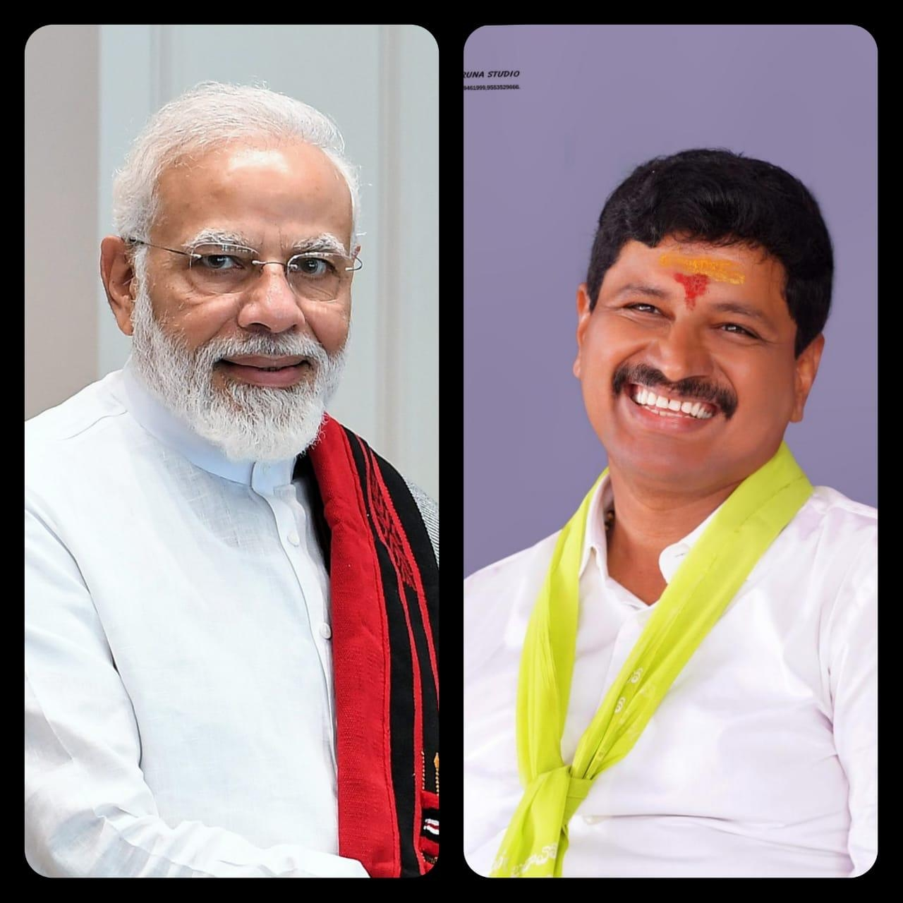 PM lauds TRS MP's 'Green India Challenge'