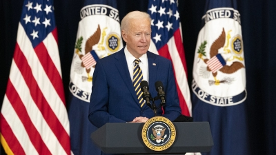 Biden rejects new Republican offer, to continue infrastructure talks next week