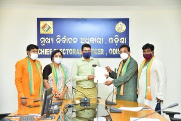 Pipili by-poll: BJP team meets CEO, seeks Central forced deployed