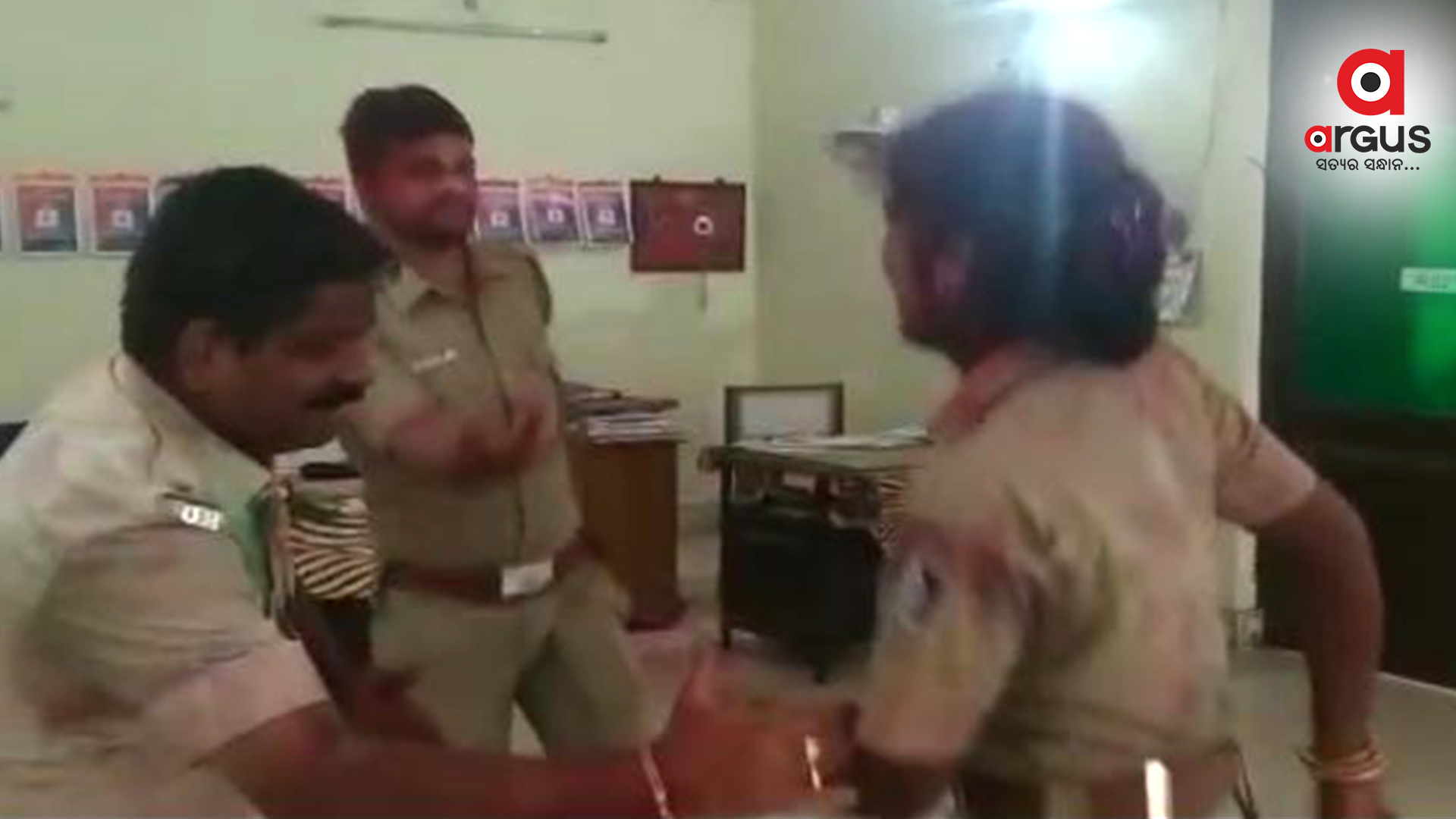 Odisha cops shake a leg on 'Nagin Nagin' inside police station; video goes viral