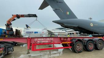 IAF to bring in Oxygen tankers to cater to surging demand