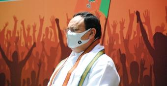Ahead of all-party meet, Nadda meets BJP leaders from J&K