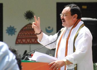 Cannot link 'family raj' concept to ticket allotment: Nadda