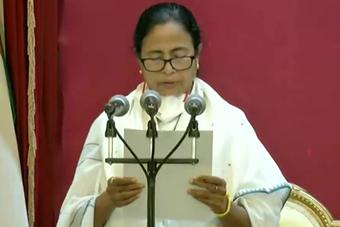 Mamata Banerjee sworn-in as Bengal Chief Minister for 3rd time