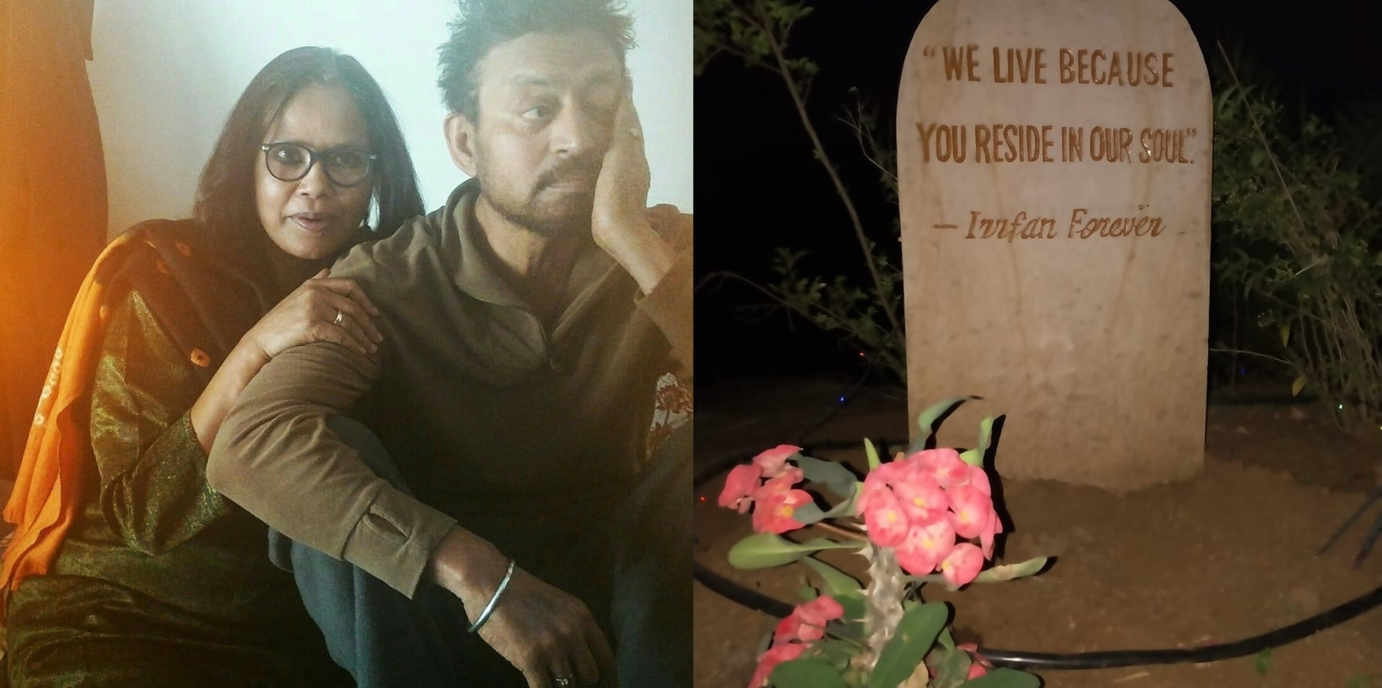 Irrfan Khan's wife Sutapa pens emotional note on actor's death anniversary