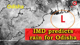 Low Pressure forms over North Bay of Bengal; IMD predicts rain for Odisha