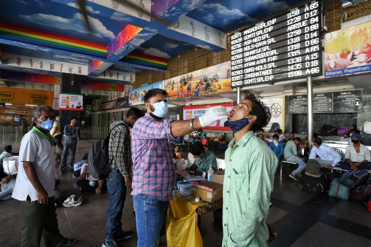 India records 38K new Covid cases, 499 deaths