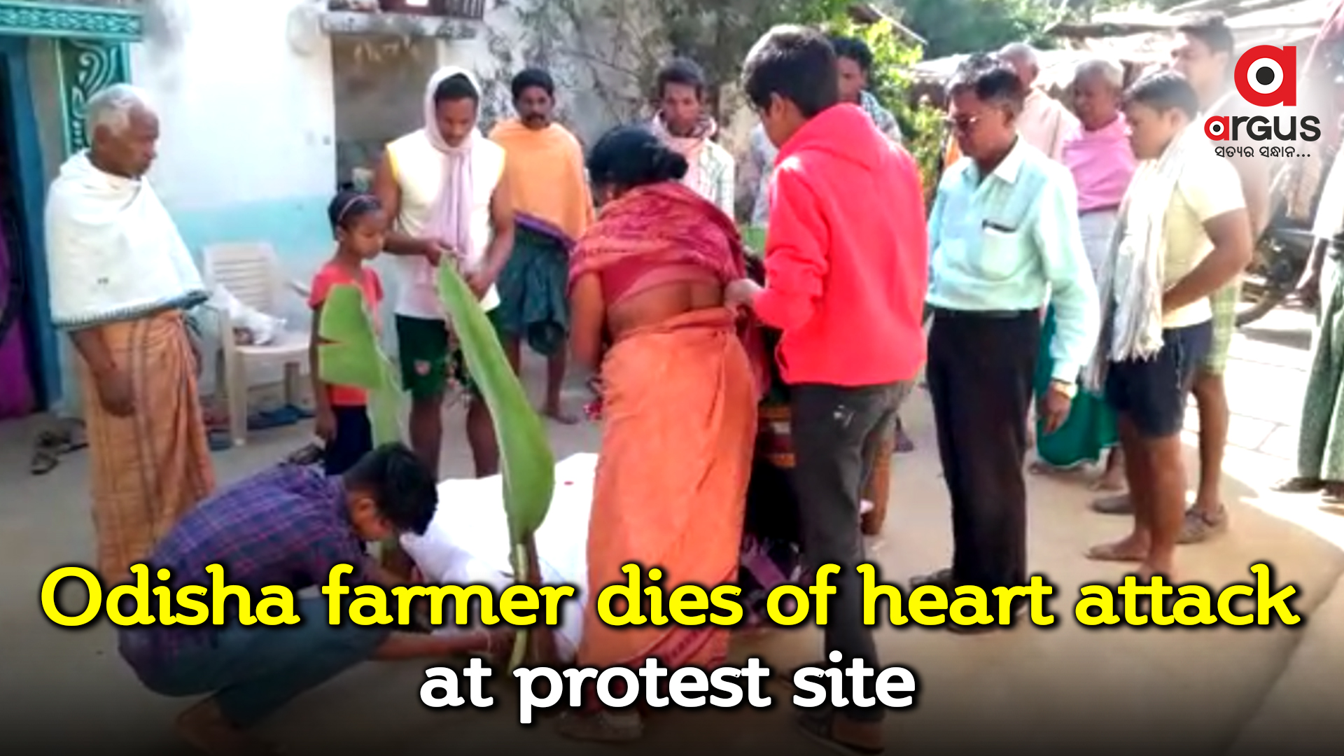 Protesting farmer dies of heart attack in Odisha