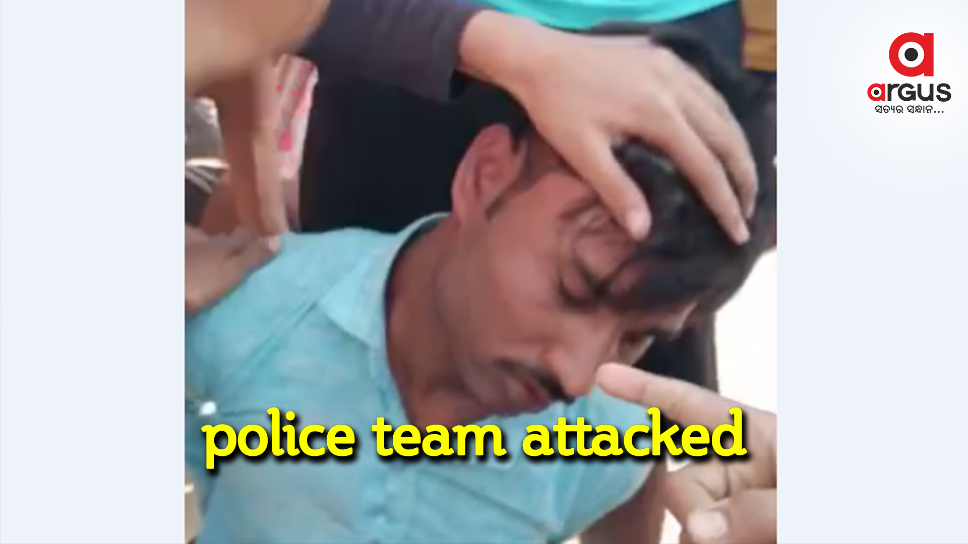 Mistaken for child lifter, police team beaten-up by villagers