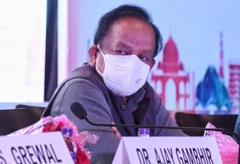 Masks are simplest, most powerful weapon against Covid: Harsh Vardhan