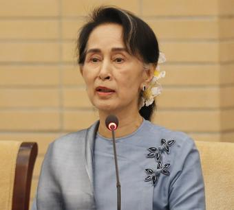 Suu Kyi appears in court via video link