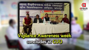 Vigilance Awareness week concludes at CUO