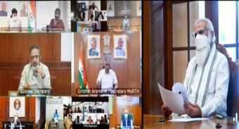 PM Modi holds a high level meeting on oxygen supply and availability