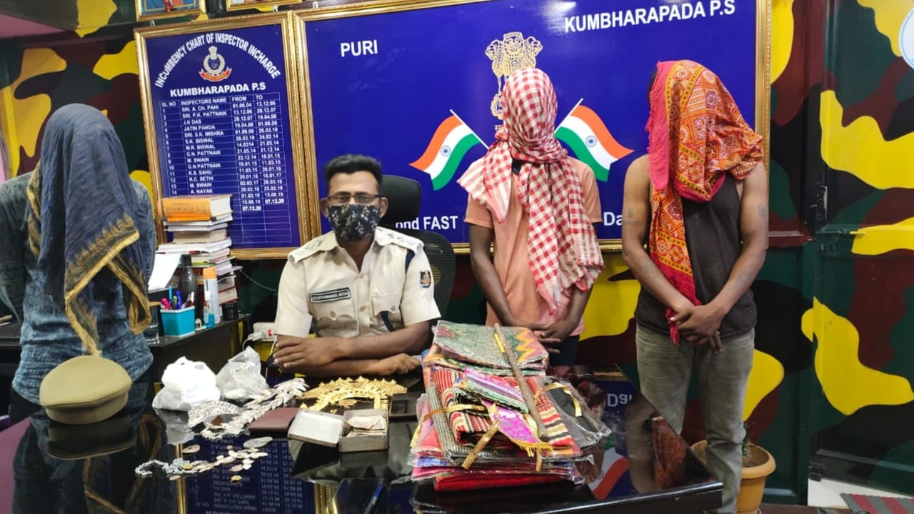 3 held in Puri Ramachandi temple loot case; valuables of deity recovered