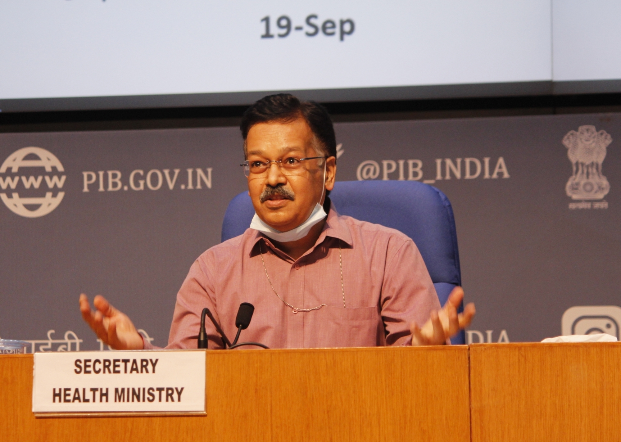 Covid spike: Union Health Secretary chairs high-level meet with 12 States, UTs