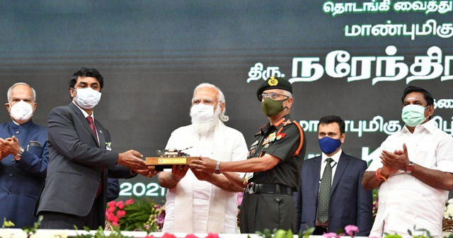 PM Modi launches slew of developmental projects in Tamil Nadu