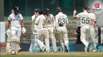 England beat India by 227 runs in Chennai Test; lead series 1-0