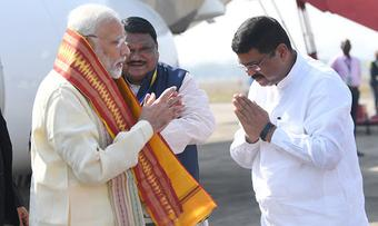 Dharmendra has tasks in hand to give shapes to PM Modi's dream