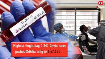 Highest single-day 4,241 Covid cases pushes Odisha tally to 1,67,161