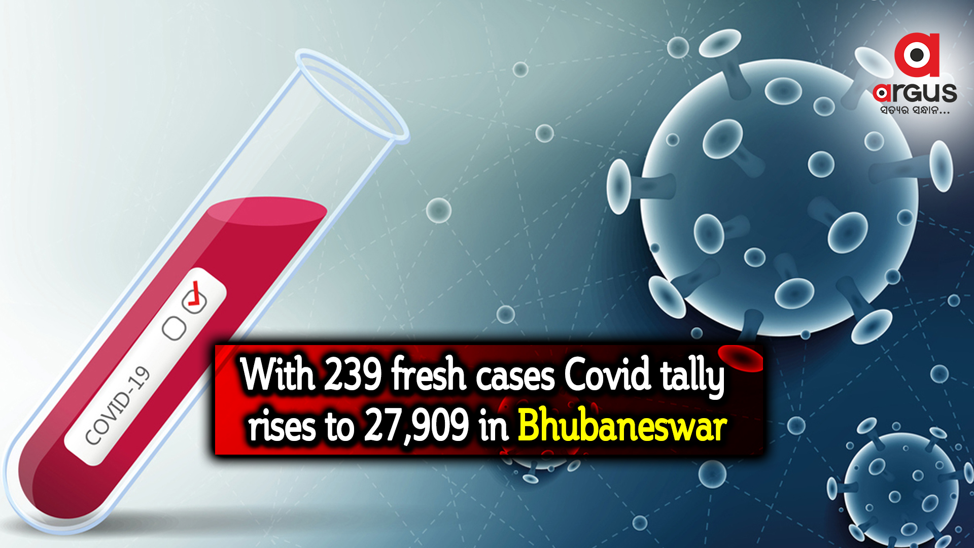 With 239 fresh cases Covid tally rises to 27,909 in Bhubaneswar