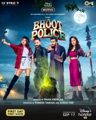 'Bhoot Police' to release digitally on September 17