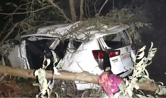 Union Minister Shripad Naik injured in road accident; wife, close aide dead