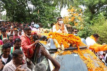 Pipili people will send Ashrit to Odisha Assembly this time: Pradhan