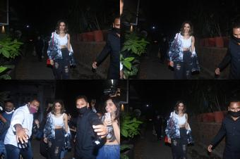 Deepika Padukone mobbed outside eatery, video goes viral
