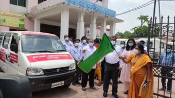 """""""X-ray on wheel"""" launched in Cuttack"""