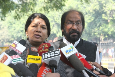 DMK's Kanimozhi tests positive for coronavirus
