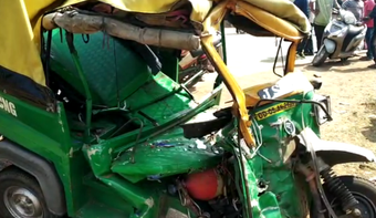 1 killed, 3 critical as bus rams into auto-rickshaw in Cuttack