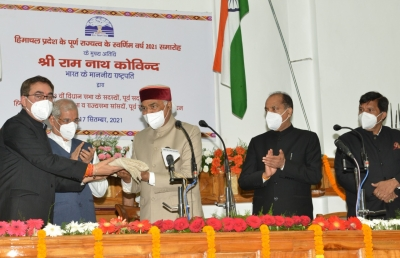 Adopt natural farming, keep Himachal free from chemical fertilizers: Kovind