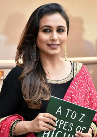 Rani Mukerji: Power with women to change how she's represented