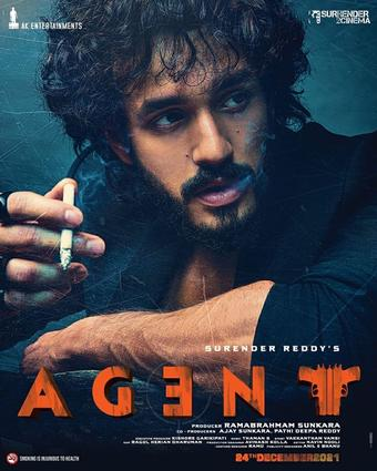 Akhil Akkineni unveils 'Agent' first look, title on b'day