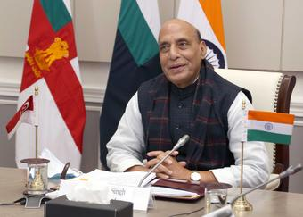 Rajnath reviews Covid situation with service chiefs