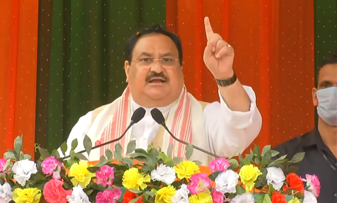 Modi govt restored lasting peace in Assam: Nadda