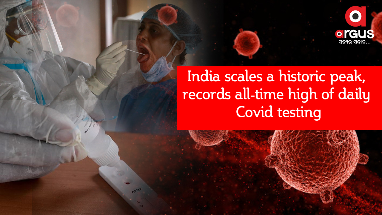 India scales a historic peak, records all-time high of daily Covid testing