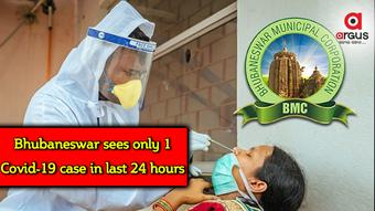Bhubaneswar reports only 1 COVID case in last 24 hours