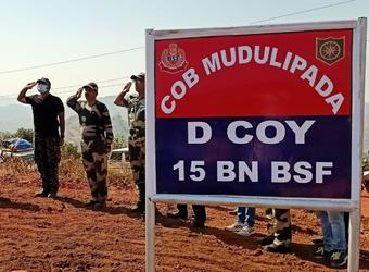 Odisha Police, BSF establish COB in Bonda Hills