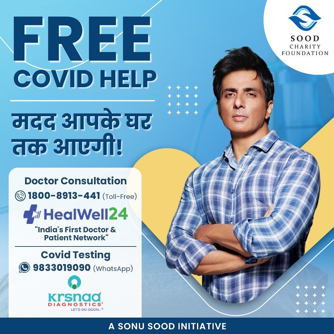 Sonu Sood: Everyone please come forward, we need more helping hands