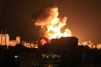 Israel reports tunnel system destruction amid violence