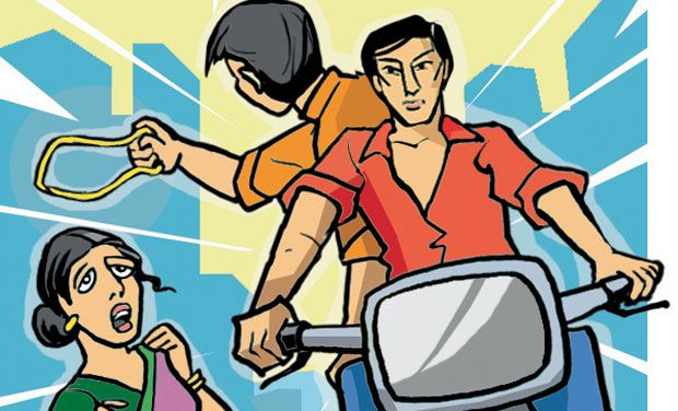 Miscreants snatch mobile phone, gold necklace from couple on Bhubaneswar outskirts