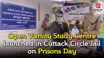 Open Varsity Study Centre launched in Cuttack Circle Jail on Prisons Day