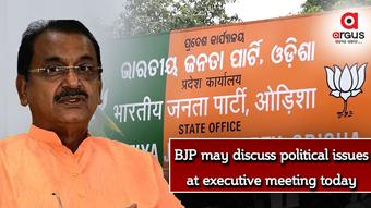 BJP may discuss political issues at executive meeting today