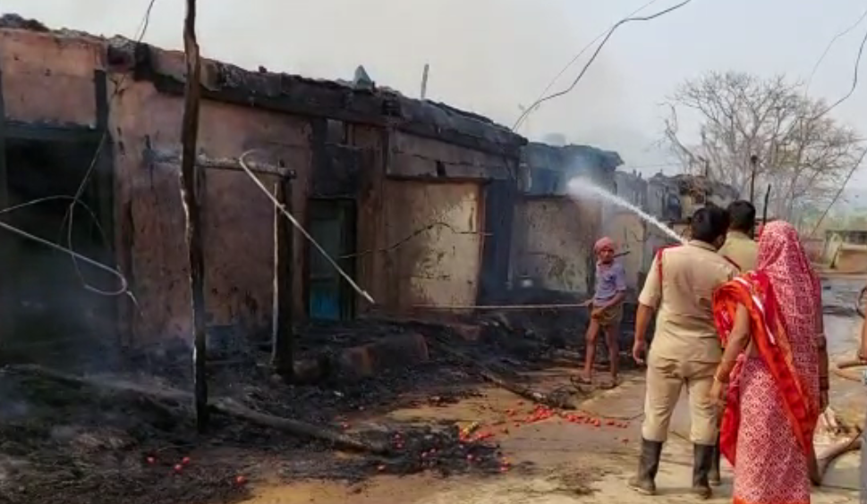 25 houses gutted, several families rendered homeless in separate fire mishaps in Ganjam