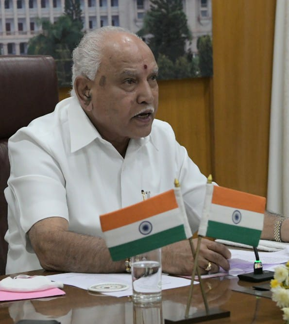 Yediyurappa tests Covid positive twice in 8 months